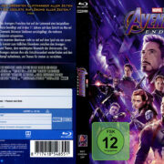 Marvel Avengers: Endgame (2019) R2 German Custom Blu-Ray Covers & Label