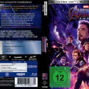 Marvel Avengers: Endgame (2019) R2 German Custom 4K UHD Covers & Labels