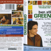 Greenberg (2009) R1 Blu-Ray Cover & Label