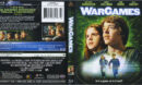 War Games (1983) R1 Blu-Ray Cover & Label