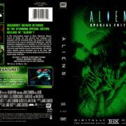 ALIENS SE (1999) R1 DVD COVER & LABEL