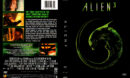 ALIEN 3 (1999) R1 DVD COVER & LABEL