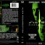 ALIEN RESURRECTION (1999) R1 DVD COVER & LABELS
