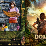 Dora and the Lost City of Gold (2019) R1 Custom DVD Cover & Label V2