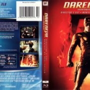 DAREDEVIL DC (2002) R1 BLU-RAY COVER & LABEL