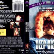 DEEP RISING (1998) R1 DVD COVER & LABEL