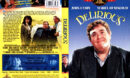 DELERIOUS (1991) R1 DVD COVER & LABEL