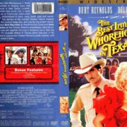 The Best Little Whorehouse In Texas (1982) R1 DVD Cover & Label