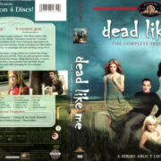 DEAD LIKE ME SEASON TWO (2004) R1 DVD COVER & LABELS