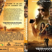 Terminator-Dark Fate (2019) R0 Custom DVD Cover & Label