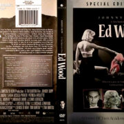 ED WOOD (1994) R1 DVD COVER & LABEL