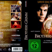 Brothers Grimm (2005) R2 German Blu-Ray Cover