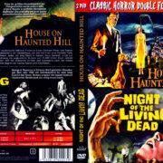 Das Haus auf dem Geisterhügel (1959) & Die Nacht der lebenden Toten (1968) Double Feature R2 German DVD Covers
