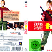 Kevin - Allein zu Haus (1990) & Kevin - Allein in New York (1992) Double Feature R2 German Blu-Ray Cover