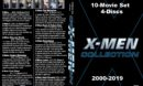 X-Men Collection (2000-2019) R1 Custom DVD Cover & Labels
