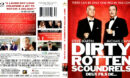 DIRTY ROTTEN SCOUNDRELS (1988) R1 BLU-RAY COVER & LABEL
