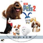 The Secret Life of Pets 2 (2019) R1 Custom DVD Label