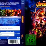 Avengers: Infinity War (2018) R2 German Blu-Ray Cover