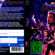 Avengers: Endgame (2019) R2 German Blu-Ray Cover