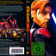 Star Wars The Clone Wars: Season 5 (2013) R2 German Blu-Ray Cover