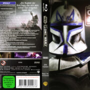 Star Wars: The Clone Wars (2008) R2 german Blu-Ray Cover