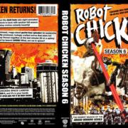 Robot Chicken Season 6 R1 Custom DVD Cover