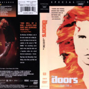 THE DOORS (1991) R1 DVD COVER & LABELS