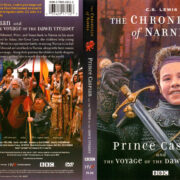 THE CHRONICLES OF NARNIA PRINCE CASPIAN AND THE VOYAGE OF THE DAWN TREADER (1990) R1 DVD COVER & LABELS