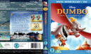 DUMBO 70TH ANNIVERSARY (1941) R2 BLU-RAY COVER & LABELS