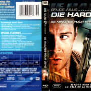 DIE HARD 2 DIE HARDER (1990) R1 BLU-RAY COVER & LABEL