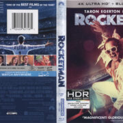 Rocketman (2019) R1 4K UHD Cover & Labels