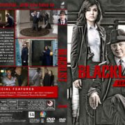 The Blacklist - Season 1 (2013) R1 Custom DVD Cover & Labels