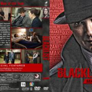 The Blacklist - Season 2 (2014) R1 Custom DVD Cover & Labels