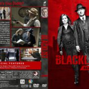 The Blacklist - Season 4 (2016) R1 Custom DVD Cover & Labels