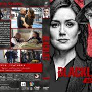 The Blacklist - Season 5 (2017) R1 Custom DVD Cover & Labels