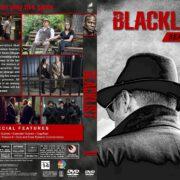 The Blacklist - Season 6 (2018) R1 Custom DVD Cover & Labels