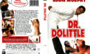 DR. DOLITTLE (1999) R1 DVD COVER & LABEL