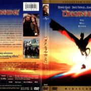 DRAGONHEART (1996) R1 DVD COVER & LABEL