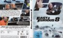 Fast & Furious 8 (2017) R2 German DVD Cover & Label