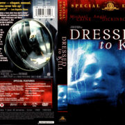 DRESSED TO KILL (1980) R1 DVD COVER & LABEL