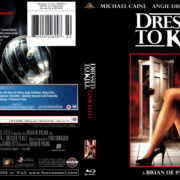 DRESSED TO KILL (1980) R1 BLU-RAY COVER & LABEL