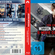 Mission Impossible 6- Movie Collection R2 German Custom Blu-Ray Covers