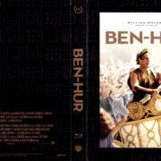 BEN HUR 50TH ANNIVERSARY BOXSET (1959) R1 BLU-RAY COVER & LABELS