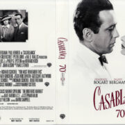 CASABLANCA 70TH ANNIVERSARY EDITION (1942) R1 BLU-RAY COVER & LABEL
