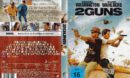 2 Guns (2014) R2 German DVD Cover