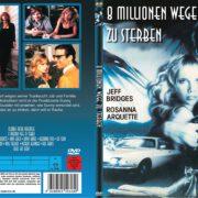 8 Millionen Wege zu sterben (1986) R2 German Custom DVD Cover
