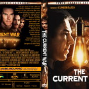 The Current War (2019) R0 Custom DVD Cover & Label