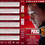 Police Story Collection (6) R1 Custom Blu-Ray Cover