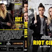 Riot Girls (2019) R0 Custom DVD Cover & Label