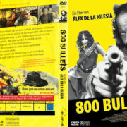 800 Bullets (2007) R2 German DVD Cover